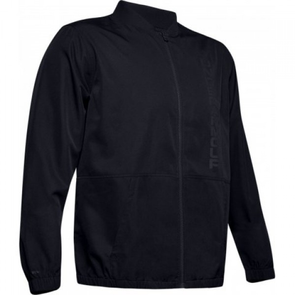 UNDER ARMOUR JACKET UNSTOPPABLE ESSENTIAL ΜΑΥΡΟ
