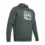 Under Armour Rival Fleece Printed ΓΚΡΙ
